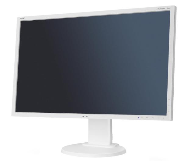 Nec MultiSync E223W biały - 222857 - zdjęcie 3