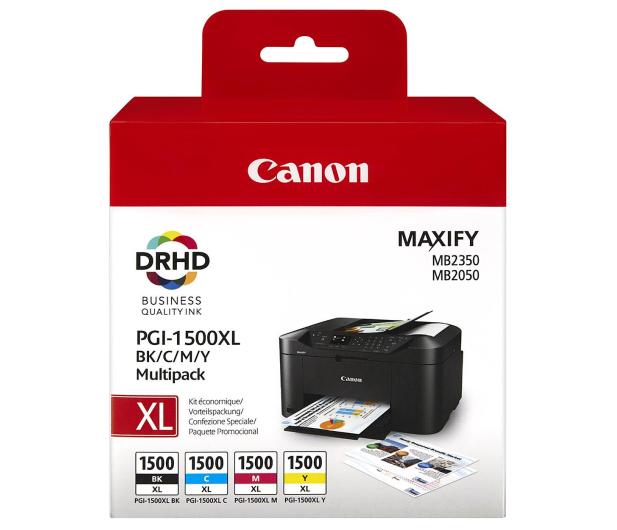 Canon Zestaw 4 tuszów PGI-1500XL C/M/Y/BK - 229855 - zdjęcie