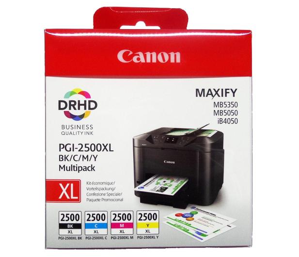 Canon Zestaw 4 tuszów PGI-2500XL C/M/Y/BK - 229856 - zdjęcie