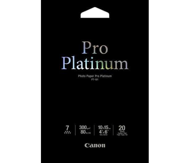 Canon Papier fotograficzny PT-101 (10x15, 300g) 20szt. - 43158 - zdjęcie