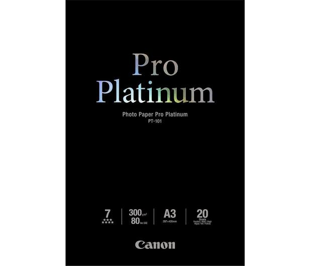 Canon Papier fotograficzny PT-101 (A3, 300g) 20szt.  - 230315 - zdjęcie