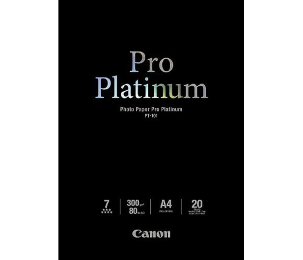 Canon Papier fotograficzny PT-101 (A4, 300g) 20szt. - 230317 - zdjęcie