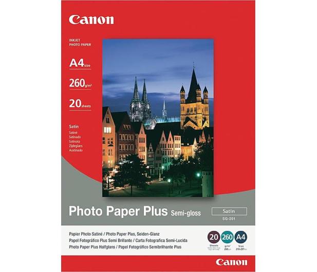 Canon Papier fotograficzny SG-201 (A4, 260g) 20szt.  - 230455 - zdjęcie