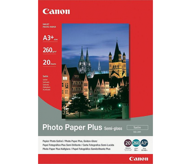 Canon Papier fotograficzny SG-201 (A3+, 260g) 20szt.  - 230457 - zdjęcie