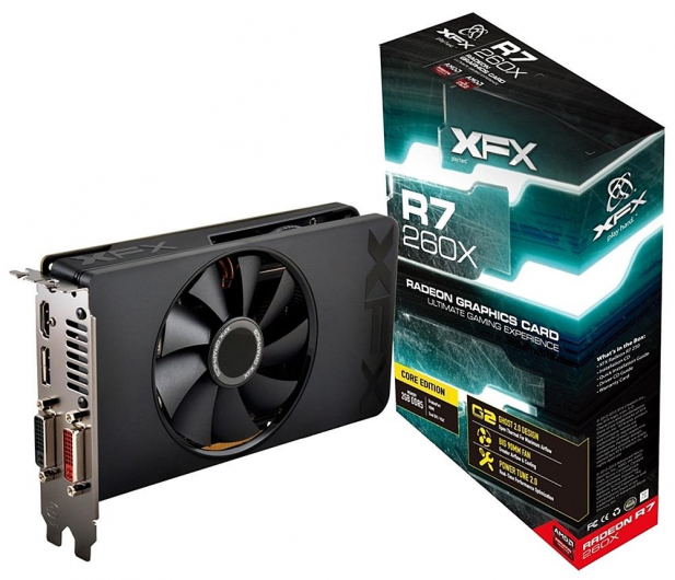 XFX Radeon R7 260X 2048MB Core Edition BULK/OEM - 227759 - zdjęcie 1