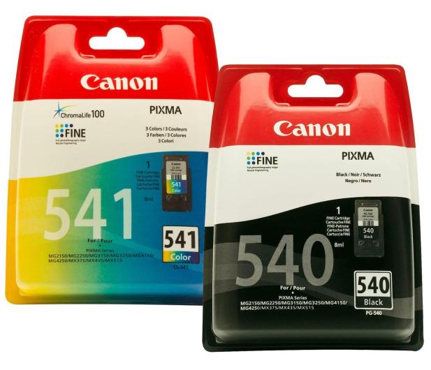 Canon Zestaw 2 tuszów PG-540 + CL-541   - 237386 - zdjęcie