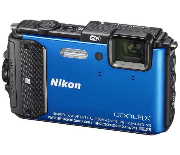 Nikon Coolpix AW130 niebieski - 236894 - zdjęcie