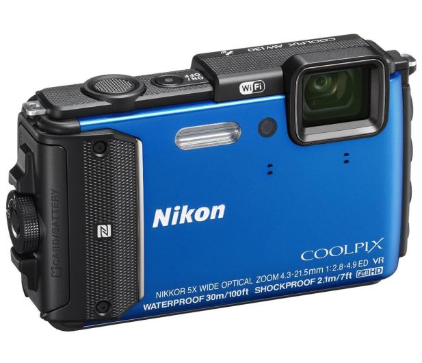 Nikon Coolpix AW130 niebieski - 236894 - zdjęcie 3