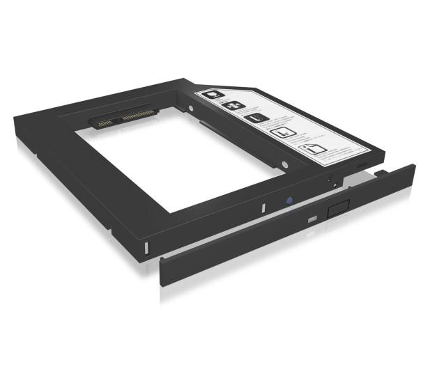 "ICY BOX Adapter na dysk 2.5"" do laptopa (slot DVD 9.5mm)  - 232315 - zdjęcie"