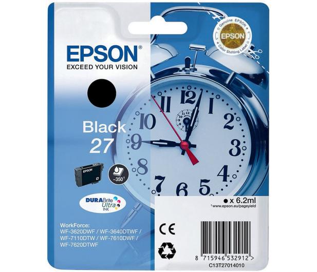 Epson T2701 black 350str. 27  - 238866 - zdjęcie