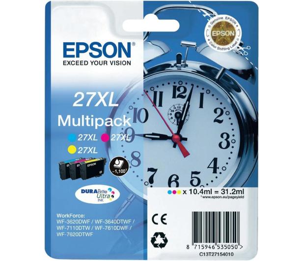 Epson T2715 zestaw tuszów CMY 3x1100str. - 238864 - zdjęcie