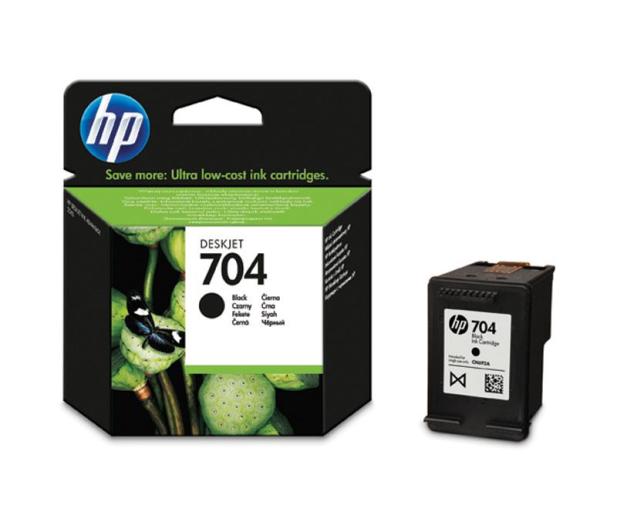 HP 704 black 480str. - 63062 - zdjęcie 2