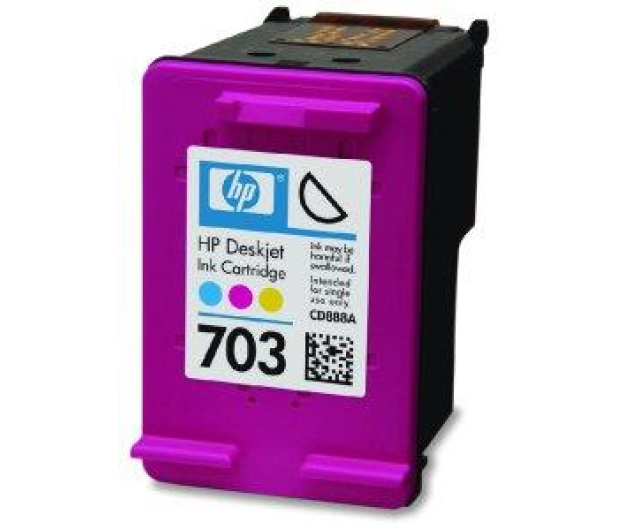 HP 703 CD888AE color 4ml   - 43175 - zdjęcie 2