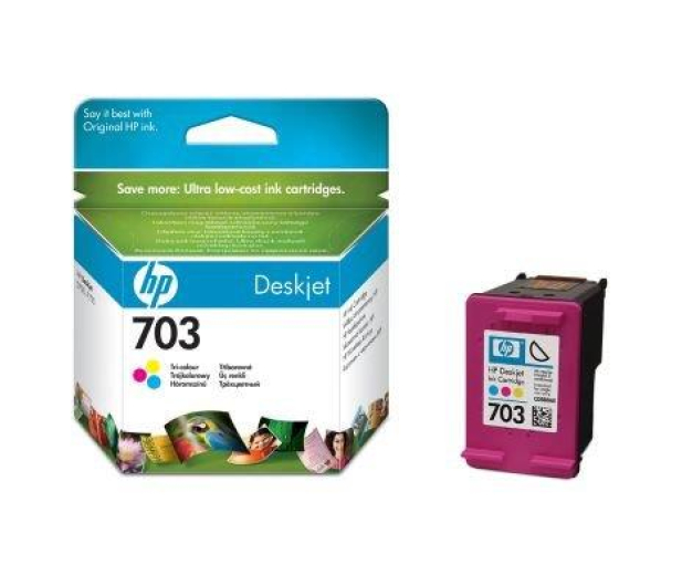 HP 703 CD888AE color 4ml   - 43175 - zdjęcie