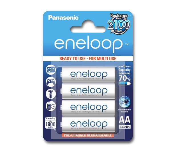 Panasonic Eneloop R6/AA 1900mAh (4 szt.) Blister  - 241193 - zdjęcie