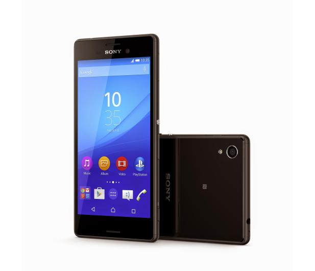 Sony Xperia M4 Aqua czarny - 241920 - zdjęcie