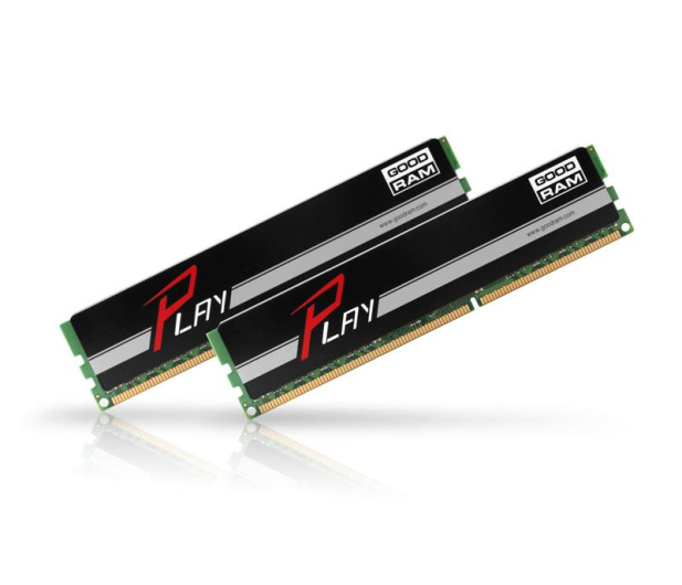 GOODRAM 8GB 1600MHz Play Black CL9 (2x4GB) - 204617 - zdjęcie 2