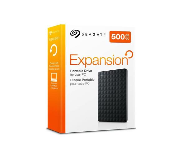 Seagate  Expansion Portable 500GB USB 3.0 - 236492 - zdjęcie 4