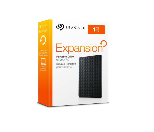 Seagate 1TB Expansion Portable 2,5'' czarny USB 3.0 - 236491 - zdjęcie 4