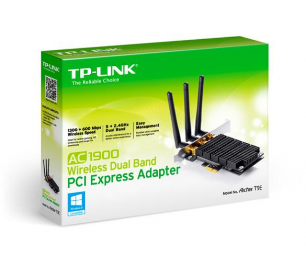 TP-Link Archer T9E  (802.11b/g/n/ac 1900Mb/s) DualBand - 243533 - zdjęcie 5