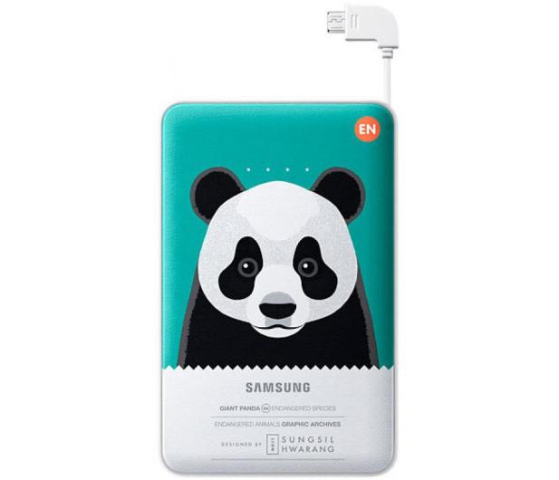 Samsung Power Bank 11300 mAh zielony panda - 246145 - zdjęcie