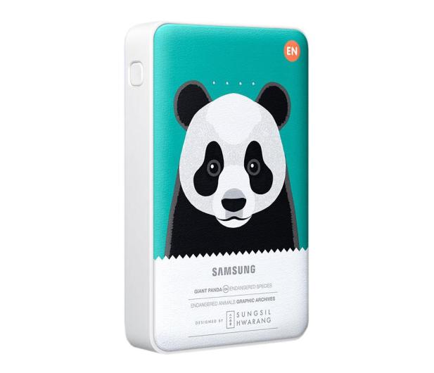 Samsung Power Bank 11300 mAh zielony panda - 246145 - zdjęcie 2