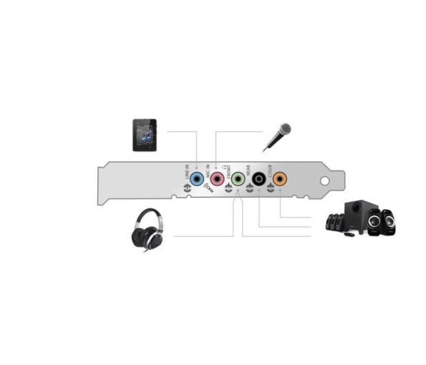Creative Sound Blaster Audigy FX (PCI-E) - 159929 - zdjęcie 4