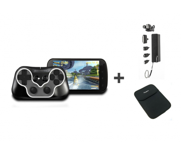 SteelSeries Free Mobile Wireless Controller+Power Bank+Etui - 247170 - zdjęcie
