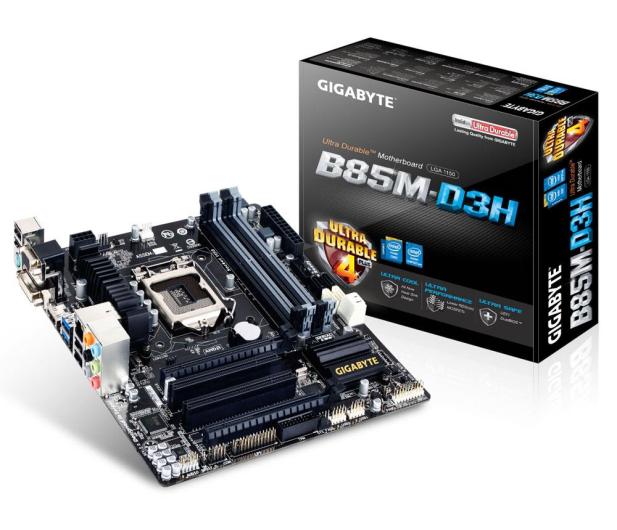 Gigabyte GA-B85M-D3H (B85 2xPCI-E DDR3) - 151872 - zdjęcie