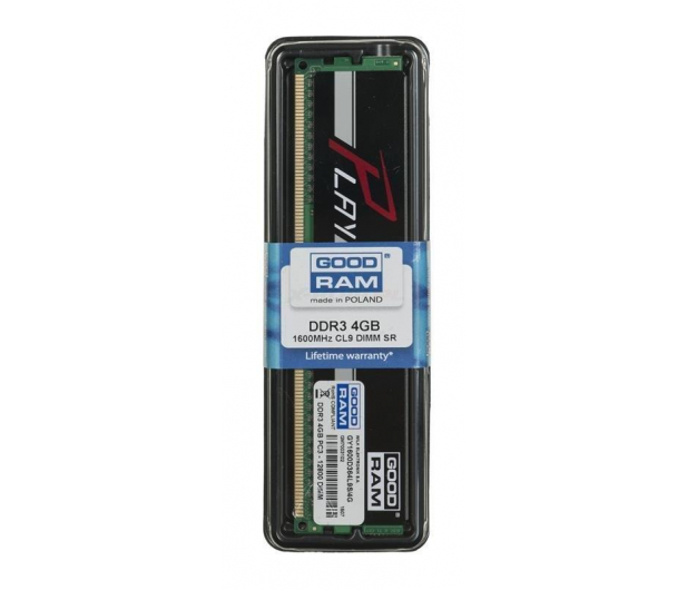 GOODRAM 4GB 1600MHz Play Black CL9 - 210959 - zdjęcie 2
