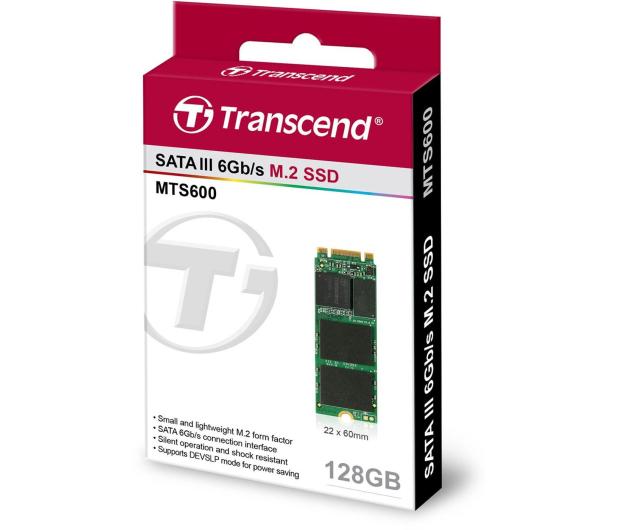 Transcend 128GB M.2 SATA SSD MTS600  - 225147 - zdjęcie 2