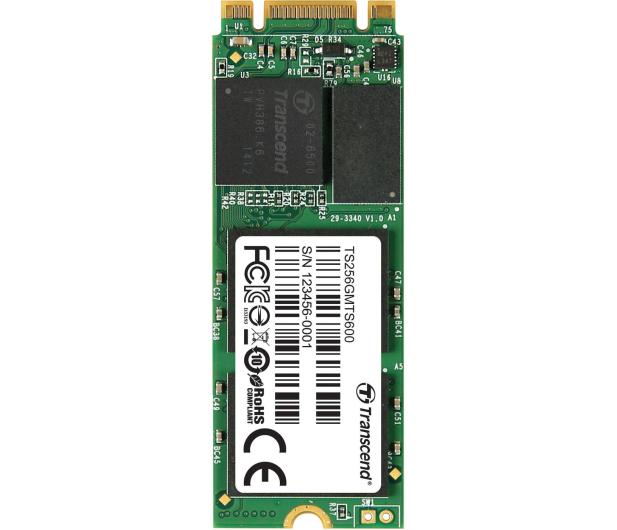 Transcend 256GB M.2 SATA SSD MTS600  - 225148 - zdjęcie 2