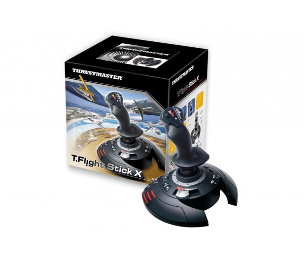 Thrustmaster T Flight Stick X (PC, PS3) - 244330 - zdjęcie 2