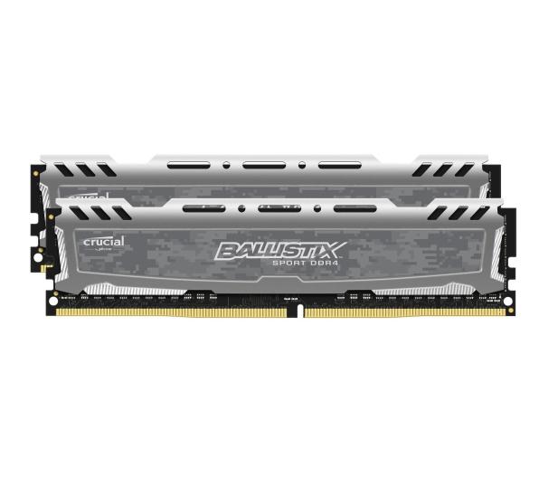 Crucial 16GB 2400MHz Ballistix Sport LT Gray CL16 (2x8GB) - 439813 - zdjęcie 2
