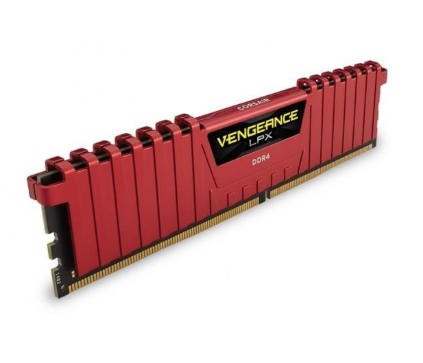 Corsair 32GB 2400MHz Vengeance LPX Red CL14 (4x8GB) - 216150 - zdjęcie 3