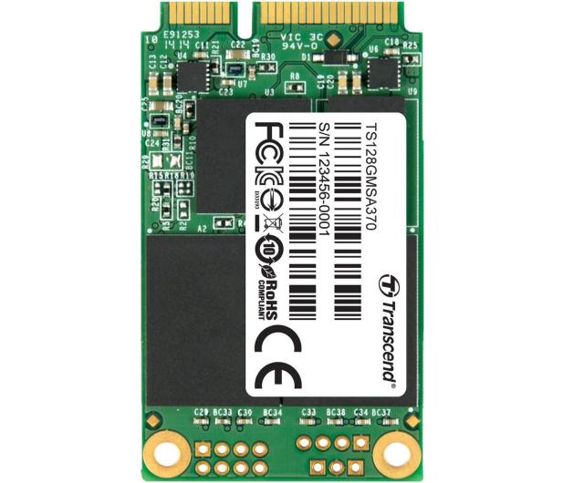 Transcend 370 128GB SSD mSATA - 239694 - zdjęcie