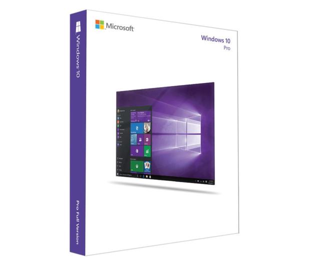 Microsoft Windows 10 PRO PL 64bit OEM DVD  - 248985 - zdjęcie