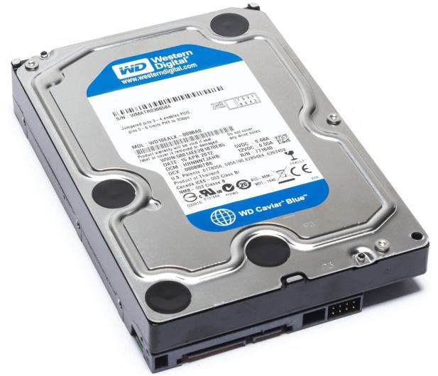 WD 750GB 7200obr. 64MB BLUE - 81295 - zdjęcie 4
