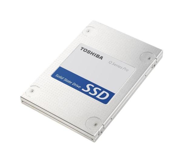 """Toshiba 256GB 2,5"""" SATA3 SSD - Q Series Pro - 173208 - zdjęcie"""