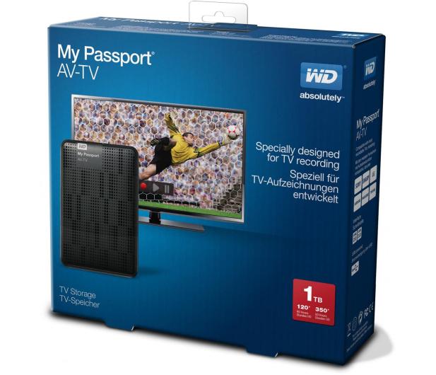 WD My Passport AV-TV 1TB USB 3.0 - 182793 - zdjęcie 5