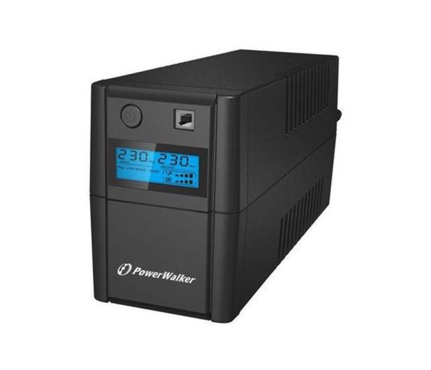Power Walker VI 850 SE LCD (850VA/480W, 2xPL, USB, LCD, AVR) - 208707 - zdjęcie 3