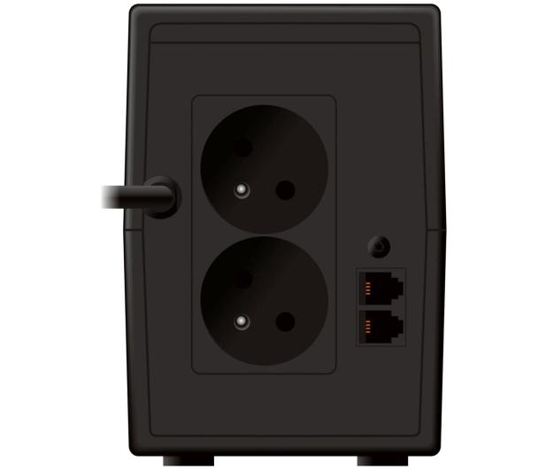 Power Walker VI 850 SE LCD (850VA/480W, 2xPL, USB, LCD, AVR) - 208707 - zdjęcie 4