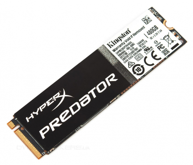 Kingston 480GB PCI Express M.2 2280 HyperX Predator - 237685 - zdjęcie 2