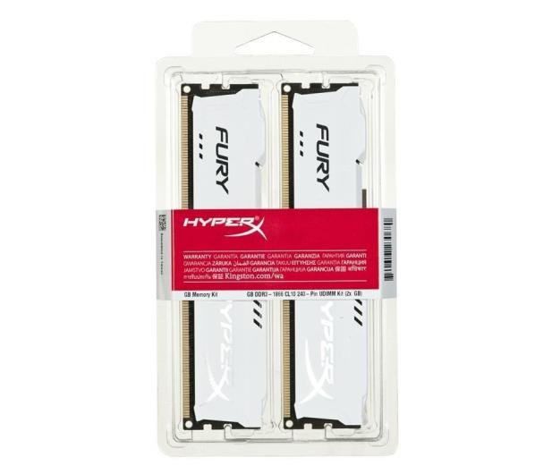 HyperX 8GB 1866MHz Fury White CL10 (2x4GB) - 180551 - zdjęcie 2