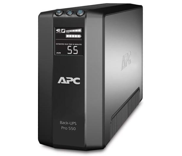 APC Back-UPS Pro 550 (550VA/330W, 6xIEC, AVR, LCD) - 51097 - zdjęcie