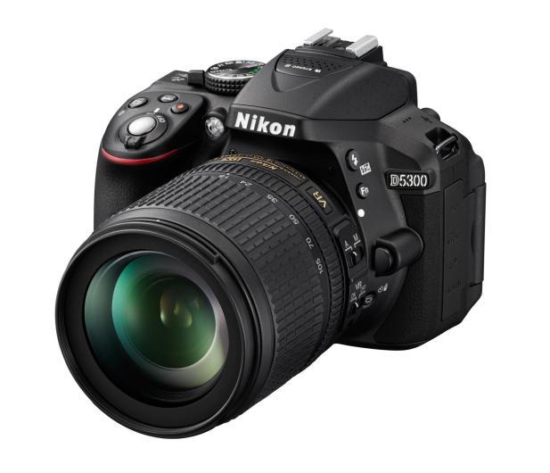 Nikon D5300 czarny + 18-105VR  - 166810 - zdjęcie