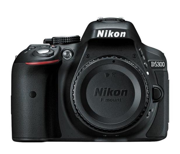 Nikon D5300 czarny + 18-105VR  - 166810 - zdjęcie 2