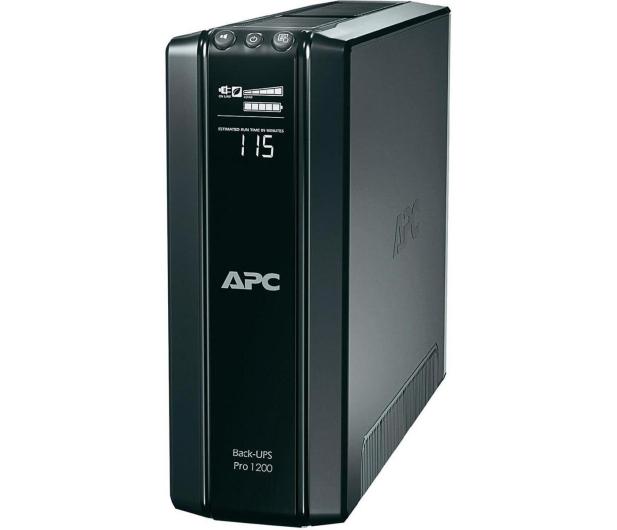 APC Back-UPS Pro 1200 (1200VA/720W, 10xIEC, LCD, AVR) - 59813 - zdjęcie