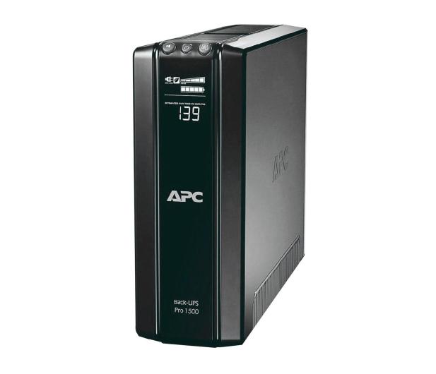 APC Back-UPS Pro 1500 (1500VA/865W, 10xIEC, AVR, LCD) - 59768 - zdjęcie