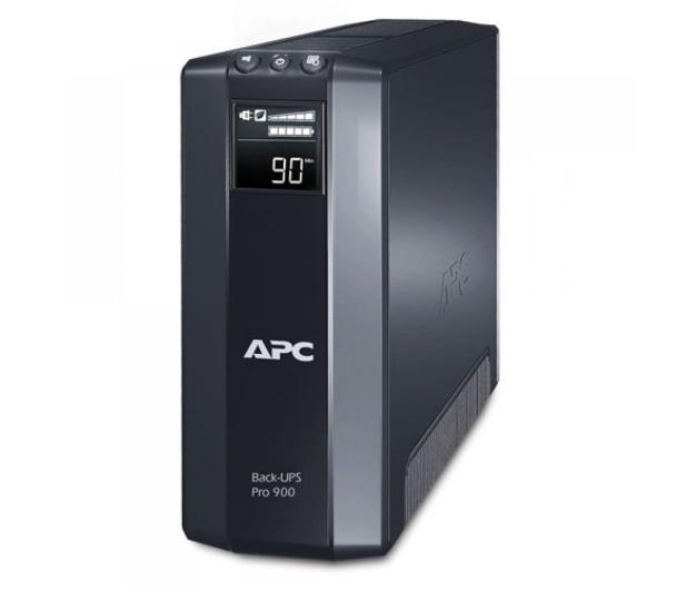 APC Back-UPS Pro 900 (900VA/540W, 8xIEC, AVR, LCD) - 66639 - zdjęcie